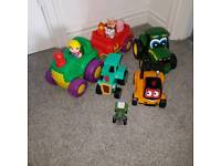 Collection of tractors