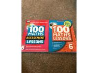 Two Year 6 Maths lessons/assessments books