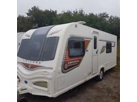 Bailey Unicorn Cadiz,4 berth,twin fixed singles,full awning,cover,ALDE.