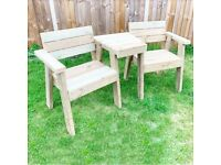 Love bench | Garden bench for couples | 2 Seater Bench | FREE delivery Norwich
