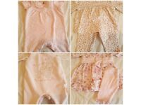 Bundle of Beautiful baby clothes 0-3 months/first size