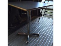 Job lot of matching 20 x bistro cafe tables