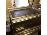 Griddle catering equipment