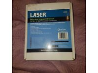 Laser mini air impact wrench