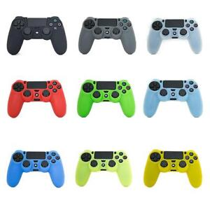 PS4 Joypad Controller Pad Rubber Silicone Soft Strong Gel Case Skin Cover UK