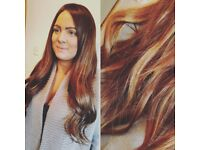 Luxury Hair Extensions Warwickshire and Mobile - Using Micro Ring/Nano rings/Tiny Locks