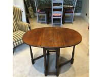 Ercol Drop Leaf Dinning Table