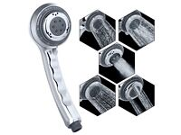 Shower Universal Fitting, Rain Shower head with 5 Sprays