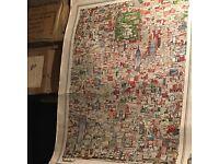 Tony graham manhattan print map
