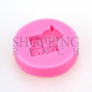 ABC Brick & Baby Face Silicone Mould Cupcake Topper Mold Decoration