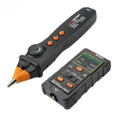 Network Rj11 Cable Finder Tester Tracker Wire Tone Generator Probe Tracer W Bag