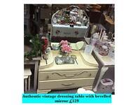 Vintage dressing table SALE BLACK FRIDAY 10% DISCOUNT until Saturday 25 November