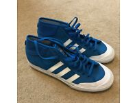 BRAND NEW (no box) ADIDAS MATCHCOURT MID SHOES-size 8 1/2 | 42 2/3