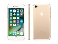 IPhone 7 Gold 32GB With Receipt