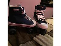 Quad skates size 6