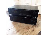 Denon PMA 350SE Amplifier + Denon DRM 540 Cassette Deck Player