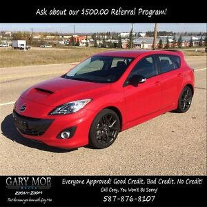 2013 Mazda MAZDA3 Speed Turbo, Nav, Leather, 268 Horsepower!!!