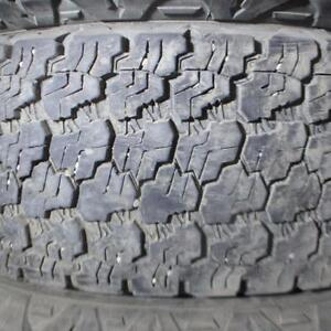 1 GOODYEAR WRANGLER SILENT ARMOUR LT 245/75R16 10 PLY TIRE 70% TREAD 245/75/16