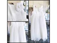 Little girls bridmaid dress