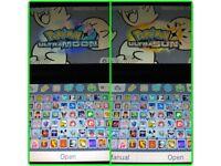 3DS XL Blue Console + Case & Games