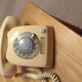 SwedishL M Ericsson dial phone