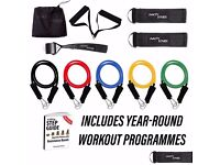 The Complete Resistance Band Workout Programme by Vivacity Fitness - Brand New