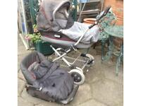 Mamma&a pappa carry cot Pram push chair