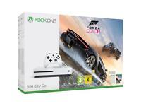 Xbox one s 1tb forza bundle white hardly used 4K ultra HD