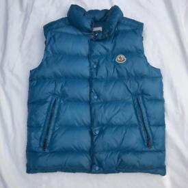 Moncler gilet body warmer size 14
