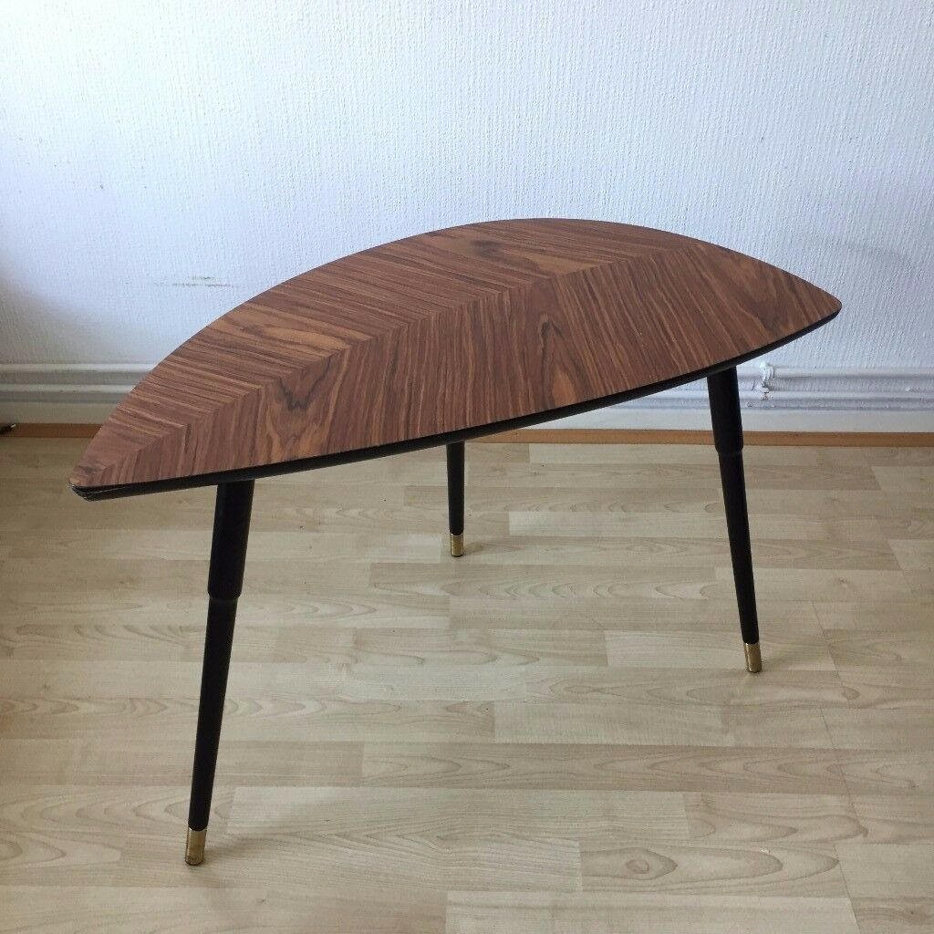 Ikea Leaf Shape Coffee Side Table Very Good Condition