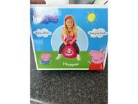Peppa pig space hopper