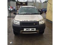 Land Rover freelander td4 gs 70K 2001 51 reg