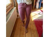 Skinny Jeans, Purple, UK 6, ASOS