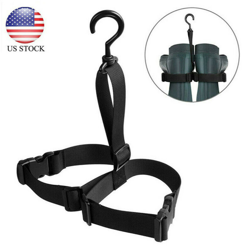 Fishing Wader Boot Hanger Strap Belt for Drying Wader Rack S