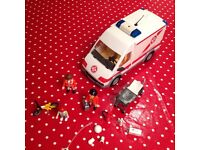 Playmobil ambulance 4221 very good condition