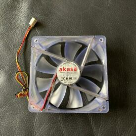 Akasa - 120mm Computer Fan - DC 12V Brushless Case Fan - Model: DFB122512L
