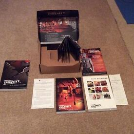 Insanity Beach Body complete DVD set