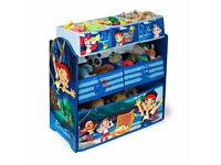 JAKE AND THE PIRATES TOY STORAGE ORGANISER
