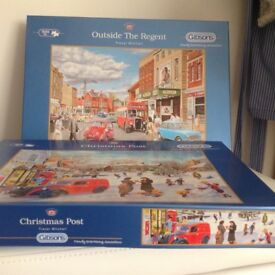 Gibsons 500 extra large pieces jigsaws