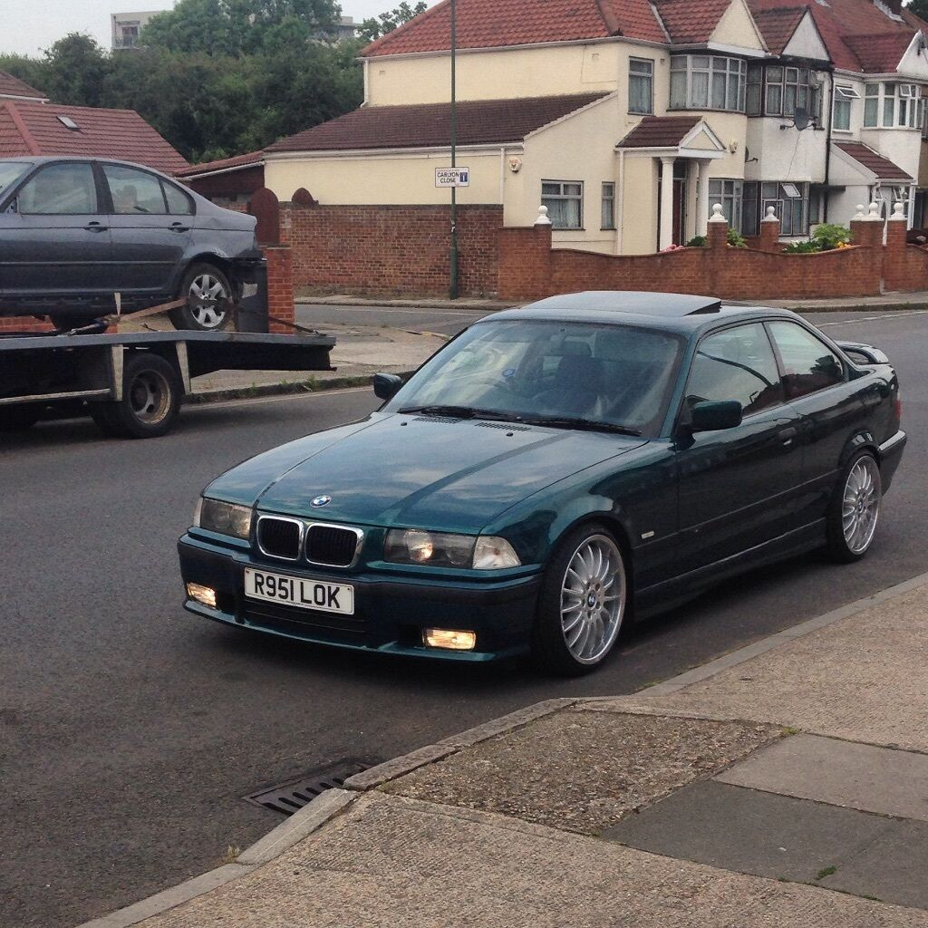 boston green bmw 318is e36 stanced for sale price reduced in wembley london gumtree. Black Bedroom Furniture Sets. Home Design Ideas