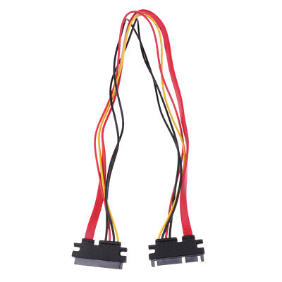 Slimline SATA to SATA Female/Male Adapter with Power Cable (Female Slimline Sata To Sata Adapter With Power)