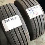 2 x Michelin Pilot Exalto 205-45-17 Zomerbanden 5,5mm