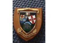 Dalriada Heraldic vintage hand painted plaque