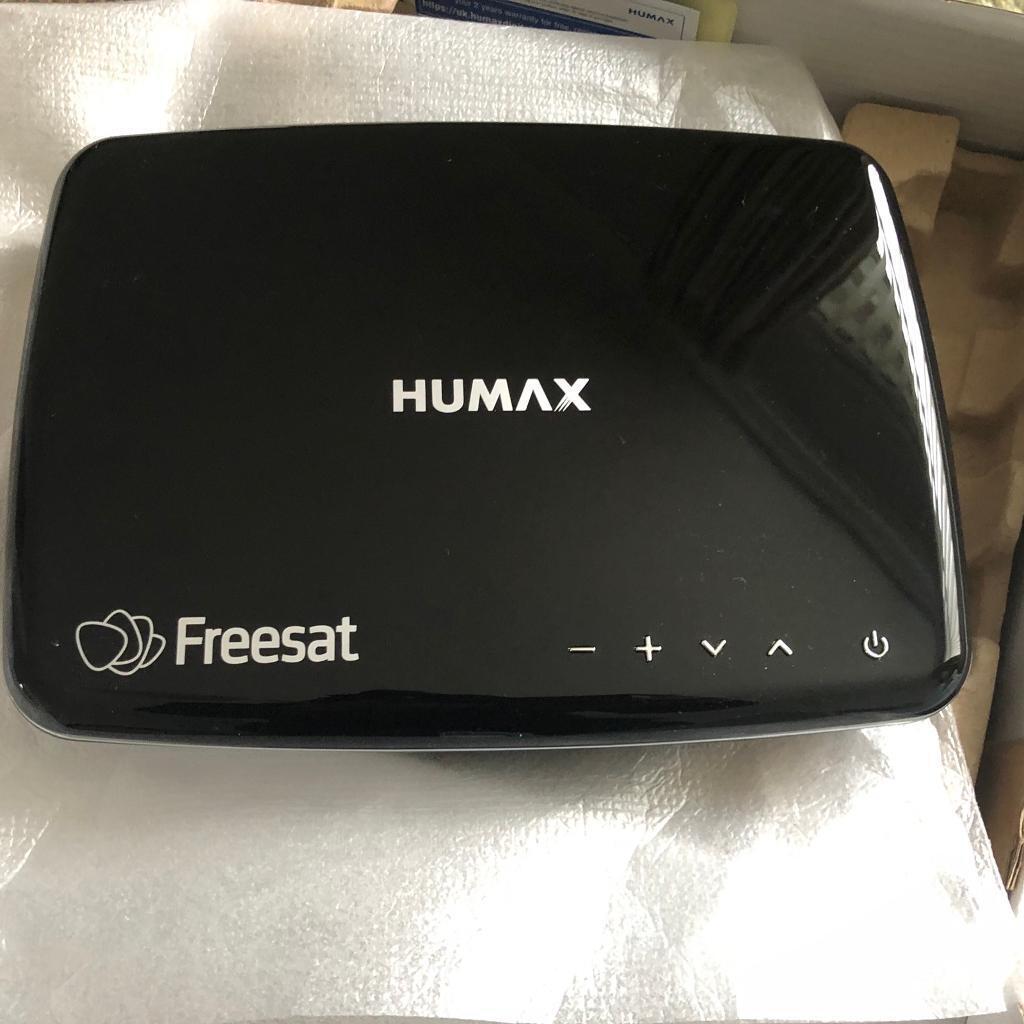 Brand New 500gb Humax Freesat Box    in Tranent, East Lothian   Gumtree