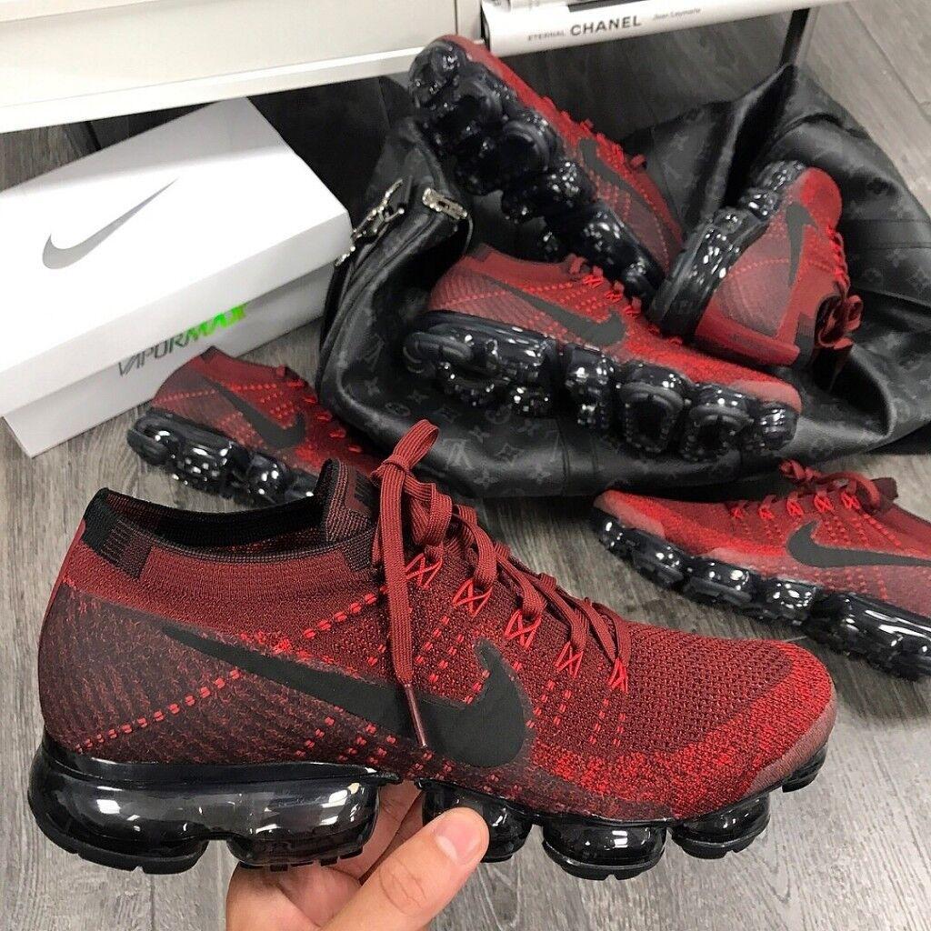0d2b7eb8c5b12 Nike Air VaporMax  BLACK RED
