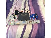 Nintendo 64 console bundle with games and controllers