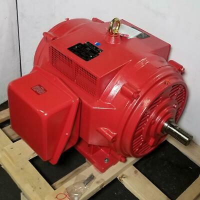 Lincoln 75 Hp 1800 Rpm Odp 230460 Volts 365ts Fire Pump 3 Phase Motor Lm80271