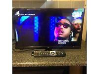 """BRAND NEW,24""""BUSH SMART/DVD INBUILT LED TV"""