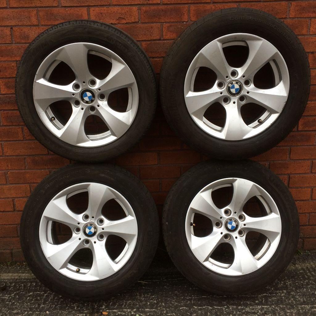 Genuine 16 Inch Bmw 3 Series Alloy Wheel Rims Amp Tyres E46