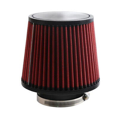 Brand New 76mm 3inch Neck Dual Cone Intake High Flow Air -